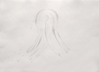10-Sketch for the study of a trace of rag