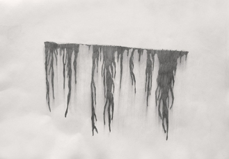 18-Sketch for the study of a leak on the wall